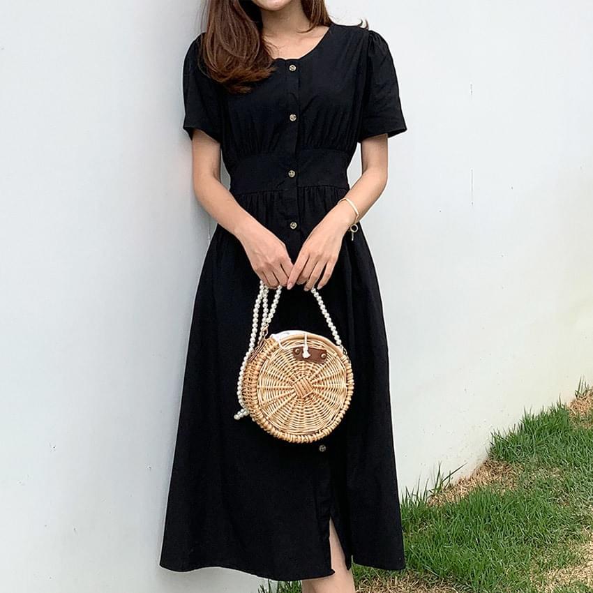 Loca button-down Dress