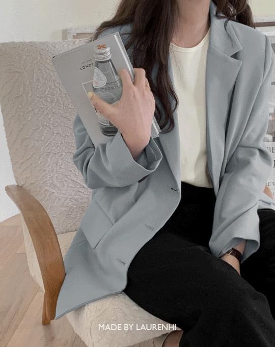 classic single midi jacket