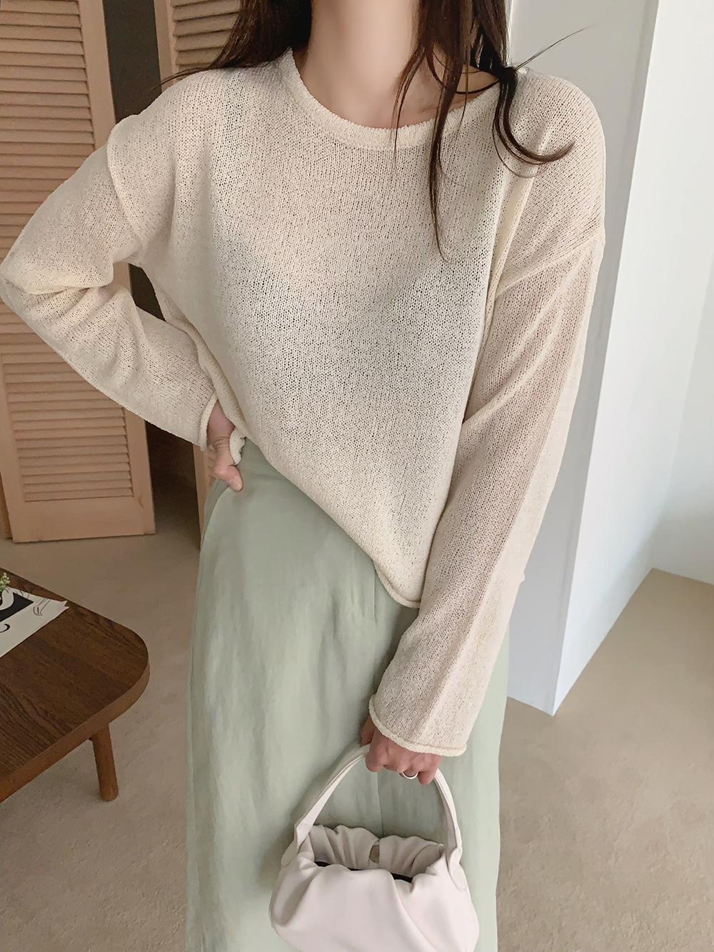 Secret linen skirt