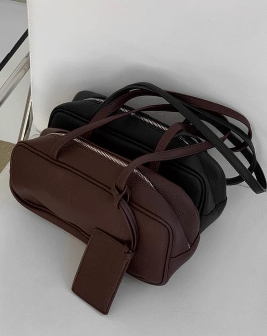 Ribno Round Shoulder Bag - 2 color