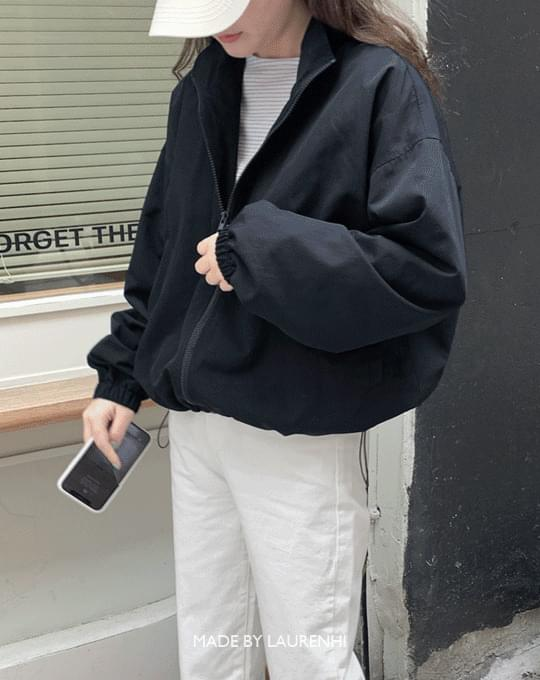 Weather Windbreaker Short Jacket - 2 color