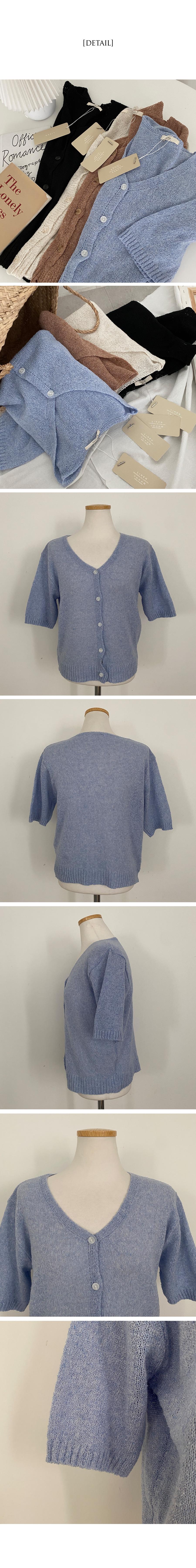 Prime Linen Bouquet Short Sleeve Cardigan