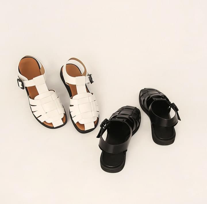 Overlap Strap Gladiator Sandals