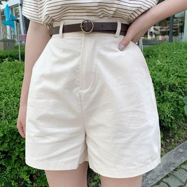 Woody cotton trousers 短褲