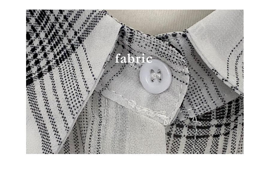 Crema see-through check shirt Shirt