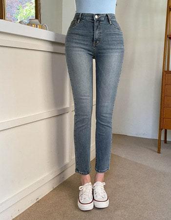 Code You Ban Hai Faded Gracie Slim Straight Fit Denim Pants