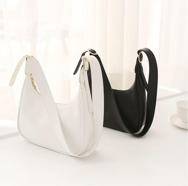Leatherette Mini Hobo Bag