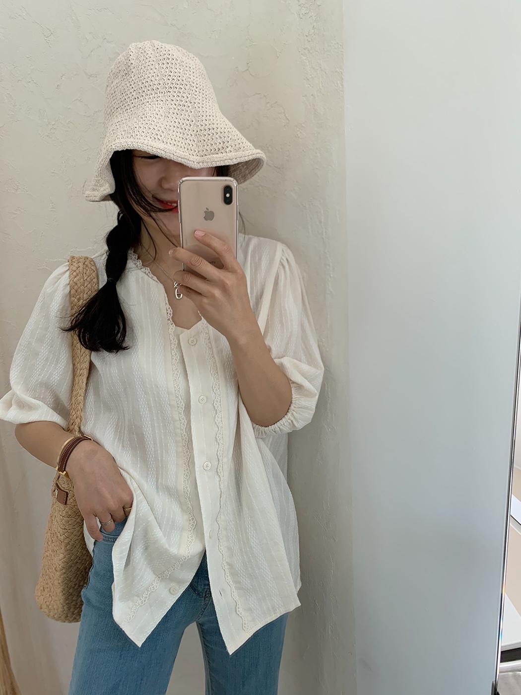 straw bucket hat