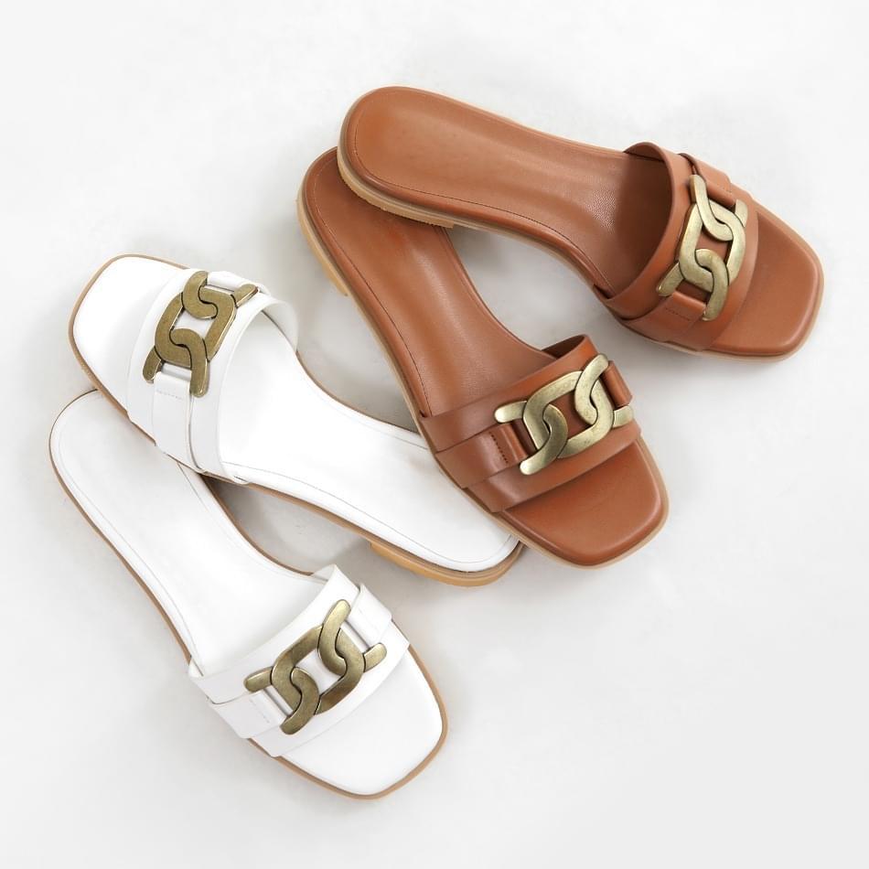 Antique slippers 2cm