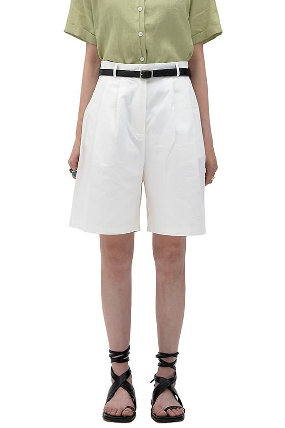 Permeal-Based Cotton Shorts