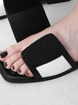 Adjustable Velcro Strap Slippers 9119