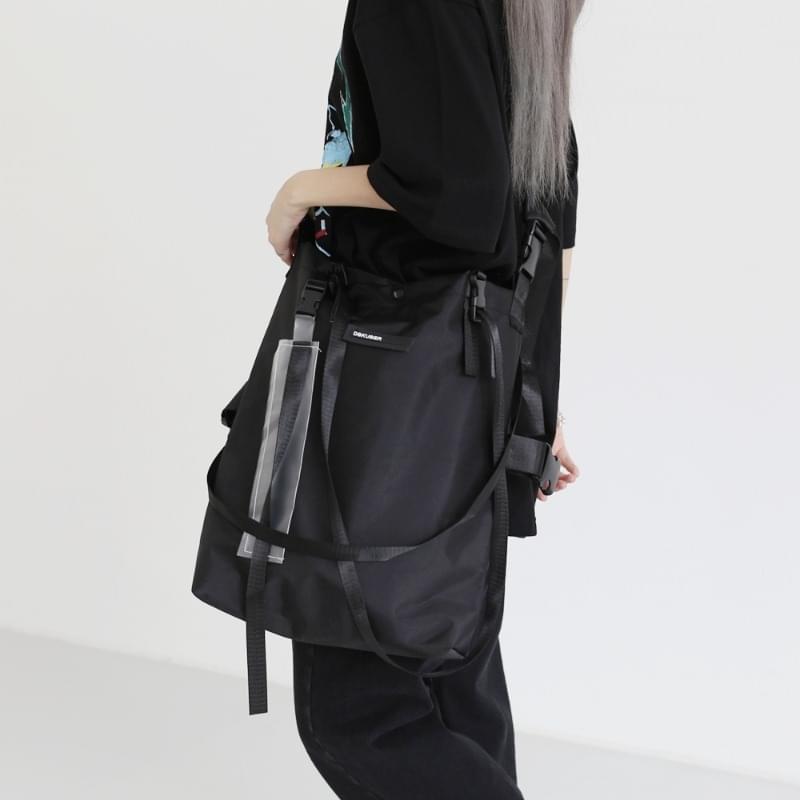 neo buckle strap crossbody bag
