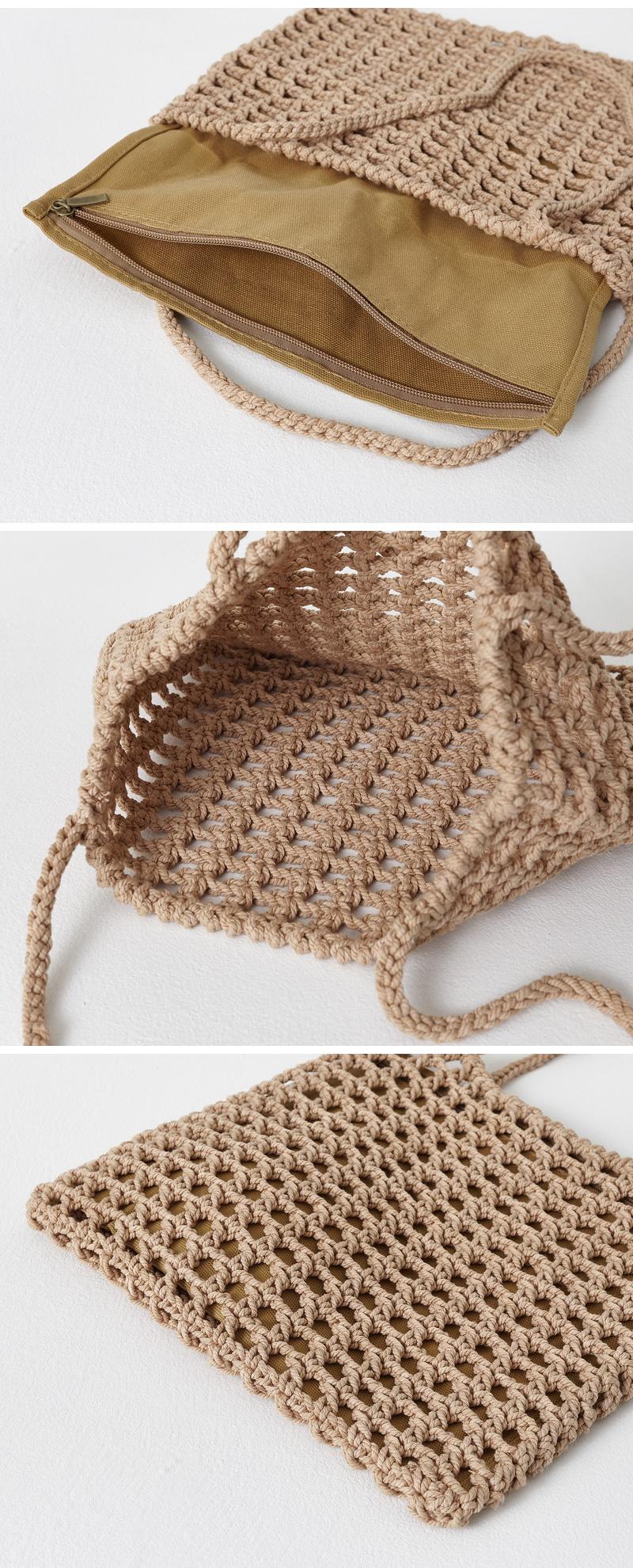 square net shoulder bag