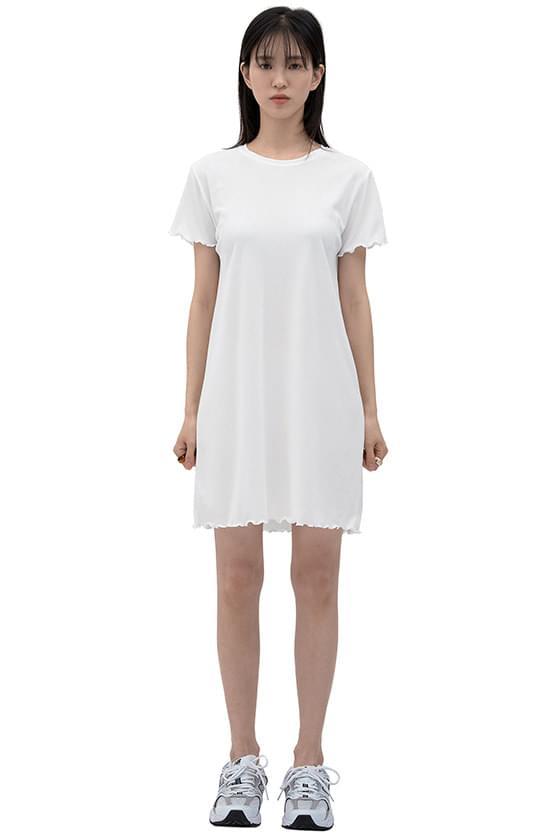 summer base cut short dress