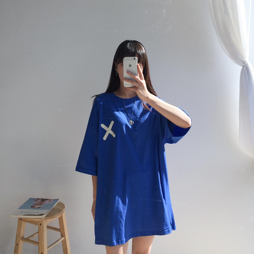 Cross-boxed shirt