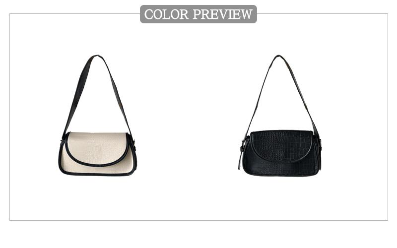 Wani color matching hobo bag