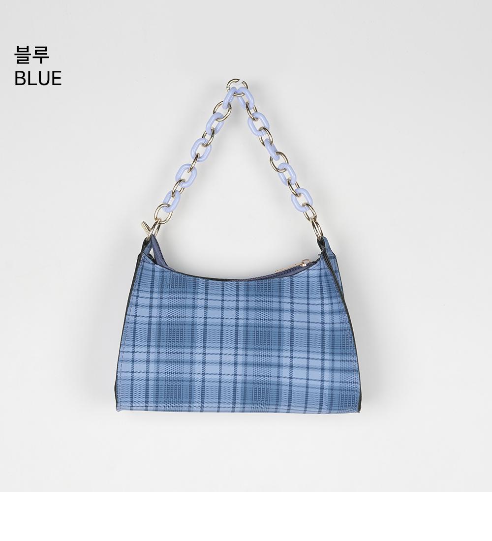 Merlin chain check mini bag