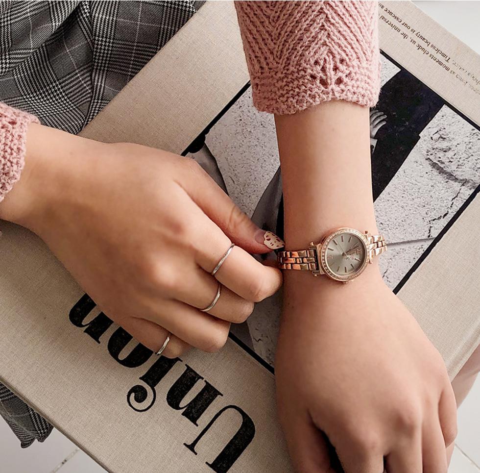 Cubic Metal Watch