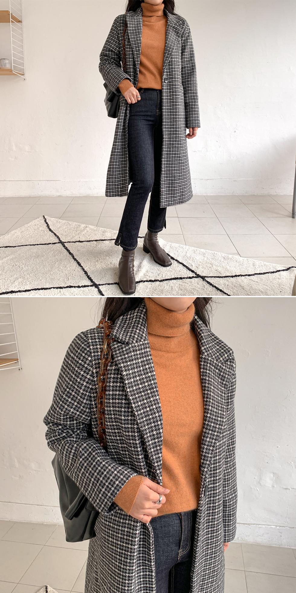Raccoon Wool Turtleneck Knitwear