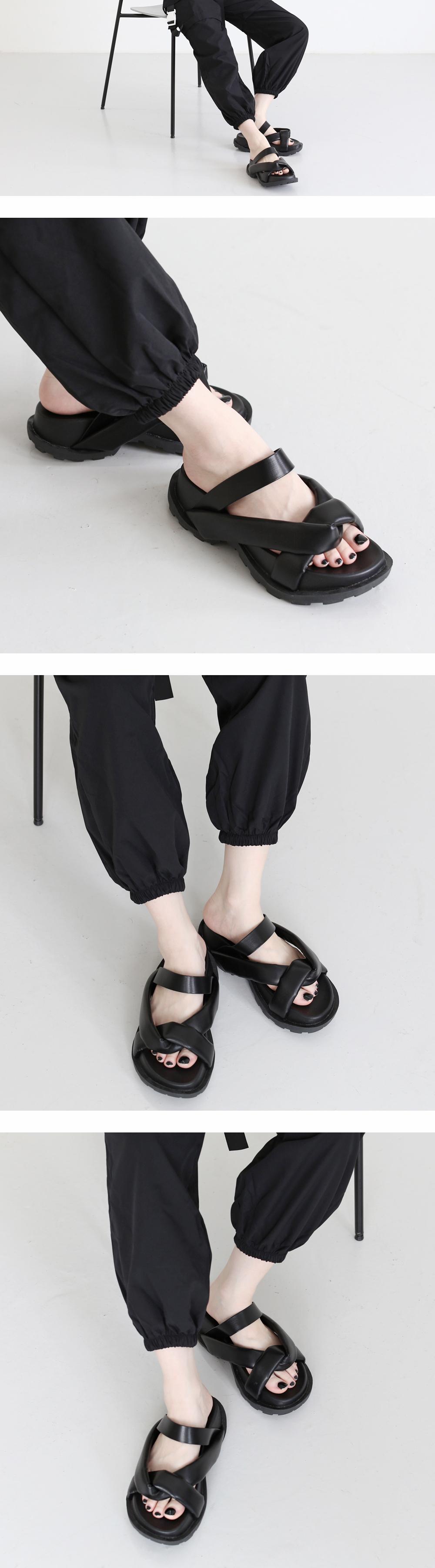 rooney bold strap sandals