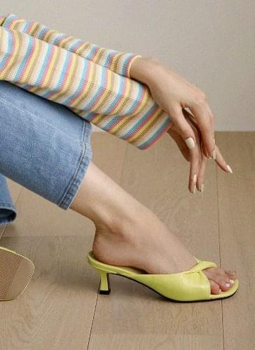 Secret Twist Twisted Mules Sandals SDLTS2d180