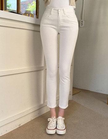Lees Van Hai cotton slim-fit straight trousers