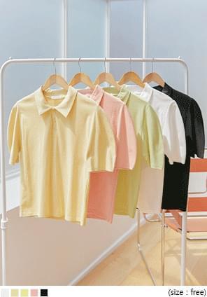 Solid Tone Polo Shirt