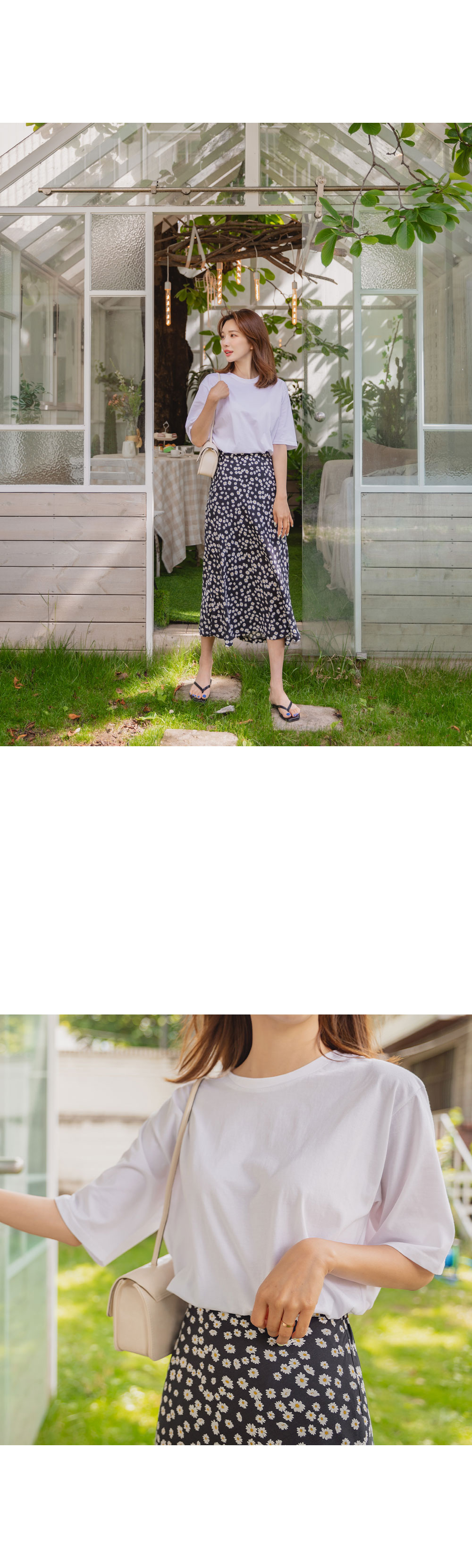 Winnie Loose-fit Cotton Short Sleeve Tee