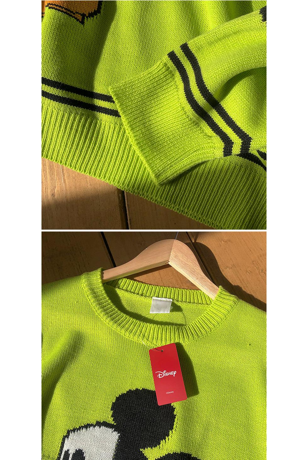 Steamed Box Mickey Knitwear