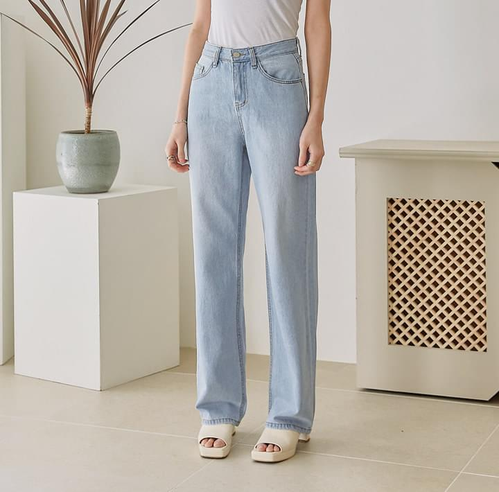 Straight Long Jeans