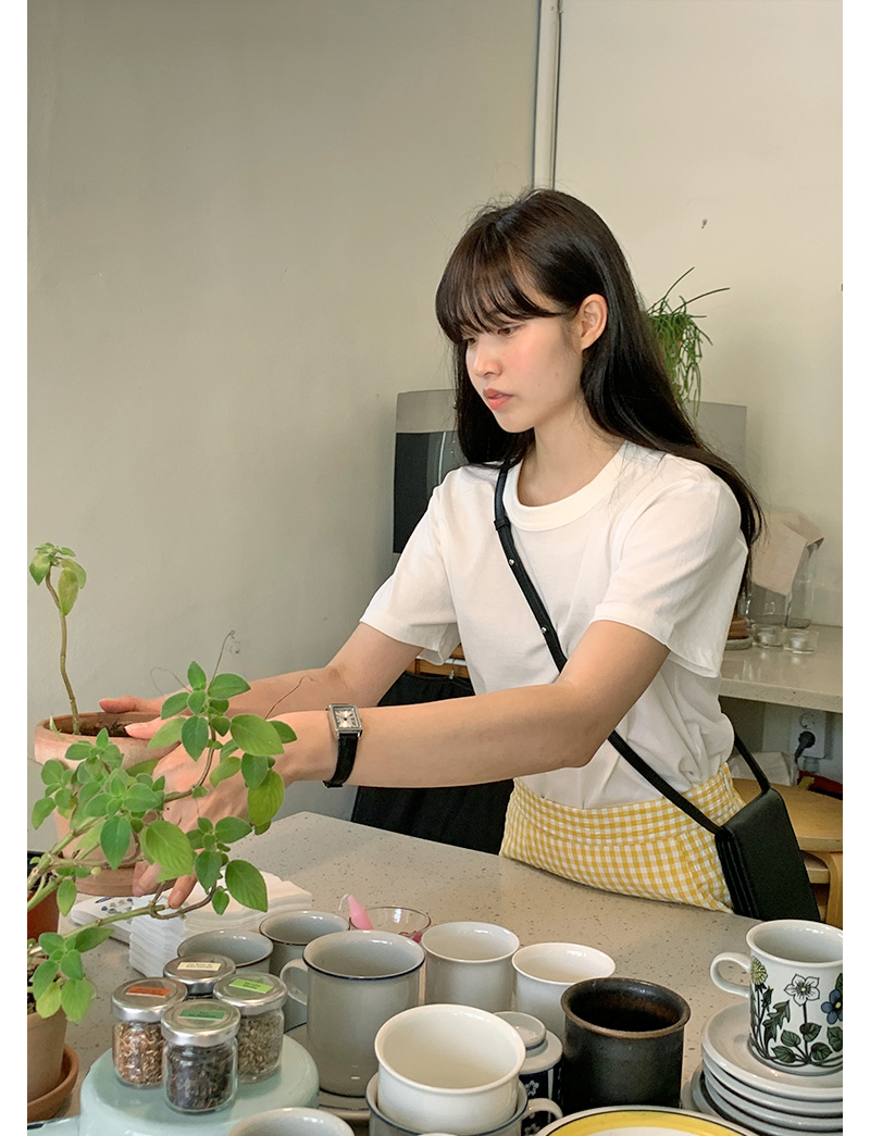 格子美人魚尾長裙 (4color)