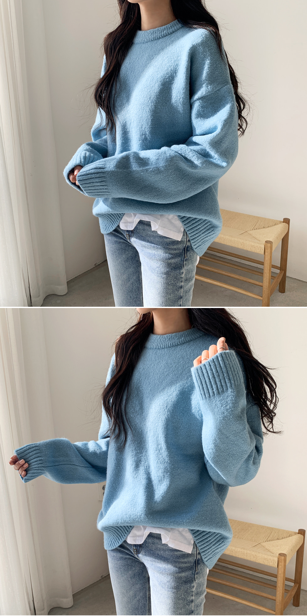 My Pick Round Knitwear