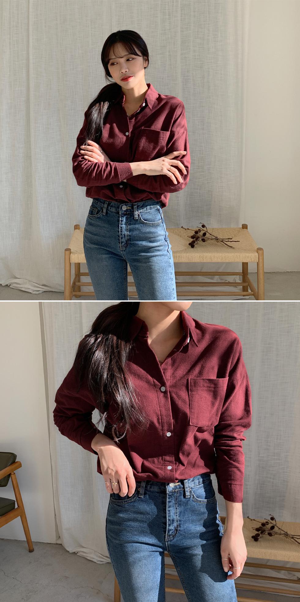 Clean Fleece-lined shirt