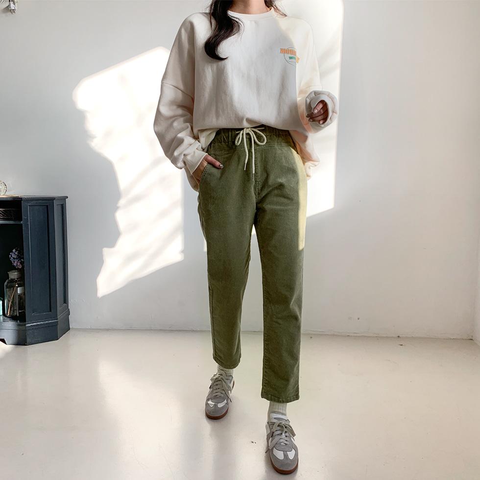 World Comfortable Golden Banding Pants