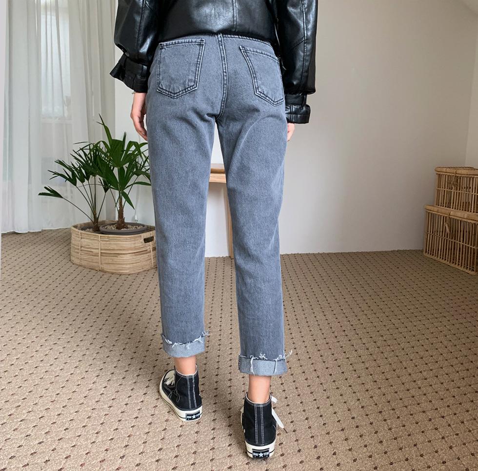 Cynical denim pants