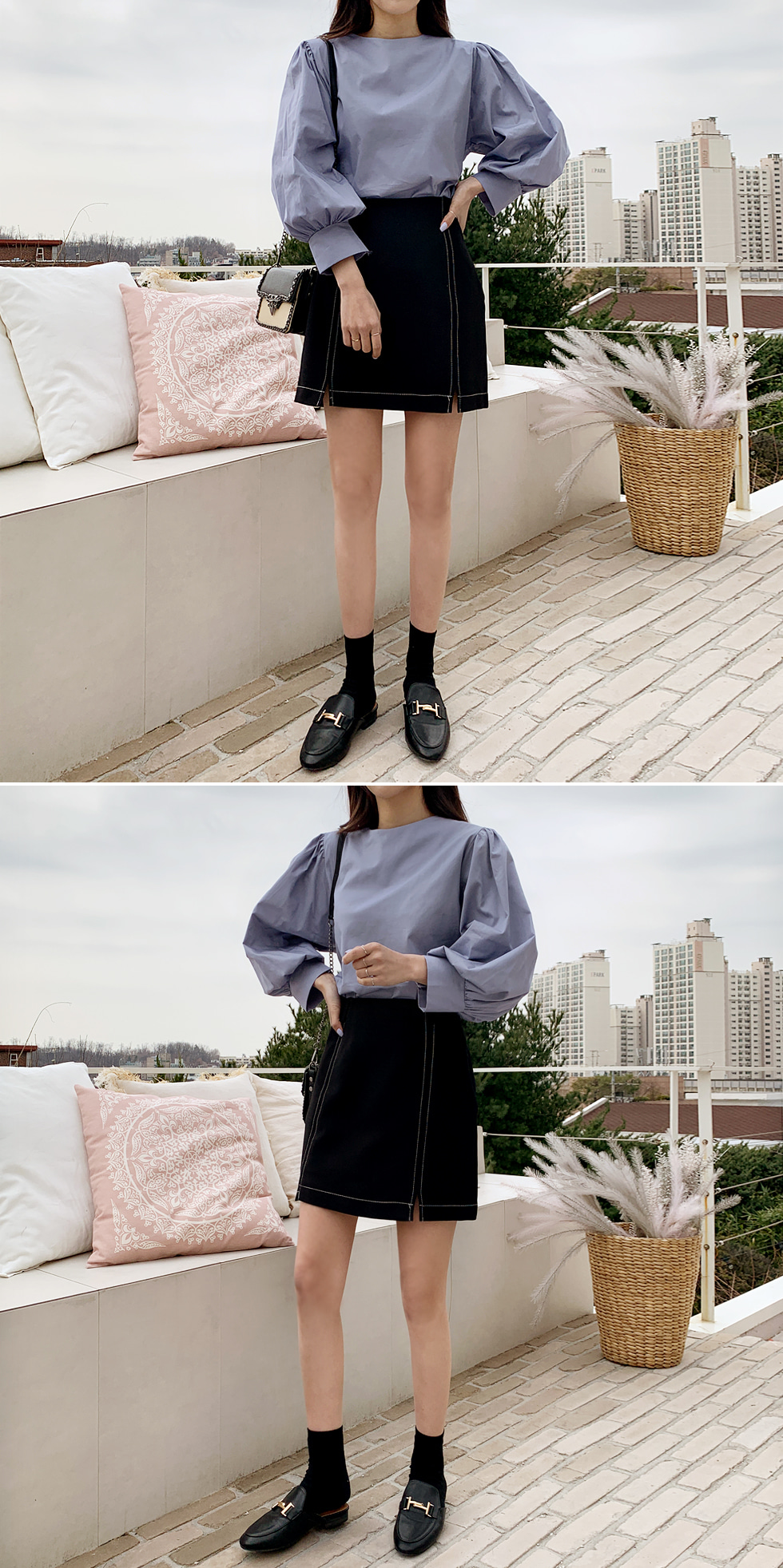 Wafer Blouse