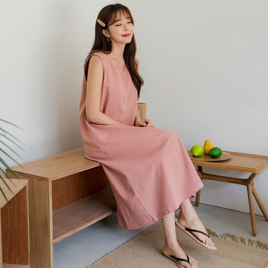 Box A Long Dress
