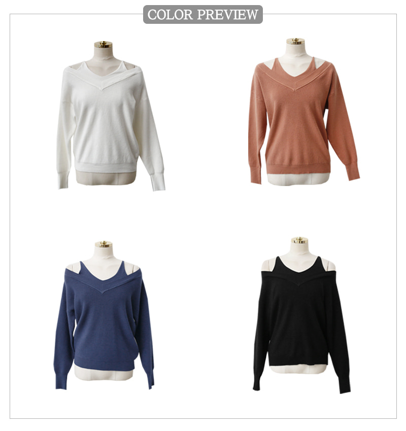 Layered Knitwear