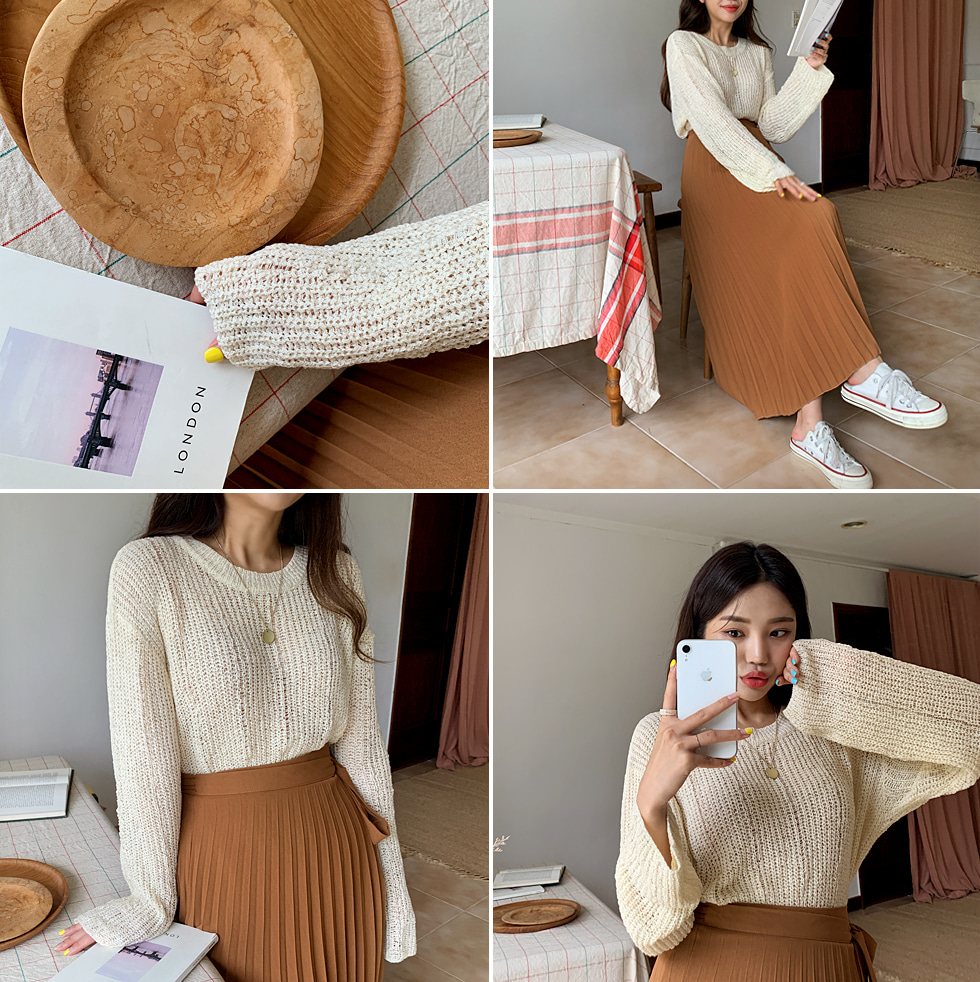 Downing Round Knitwear