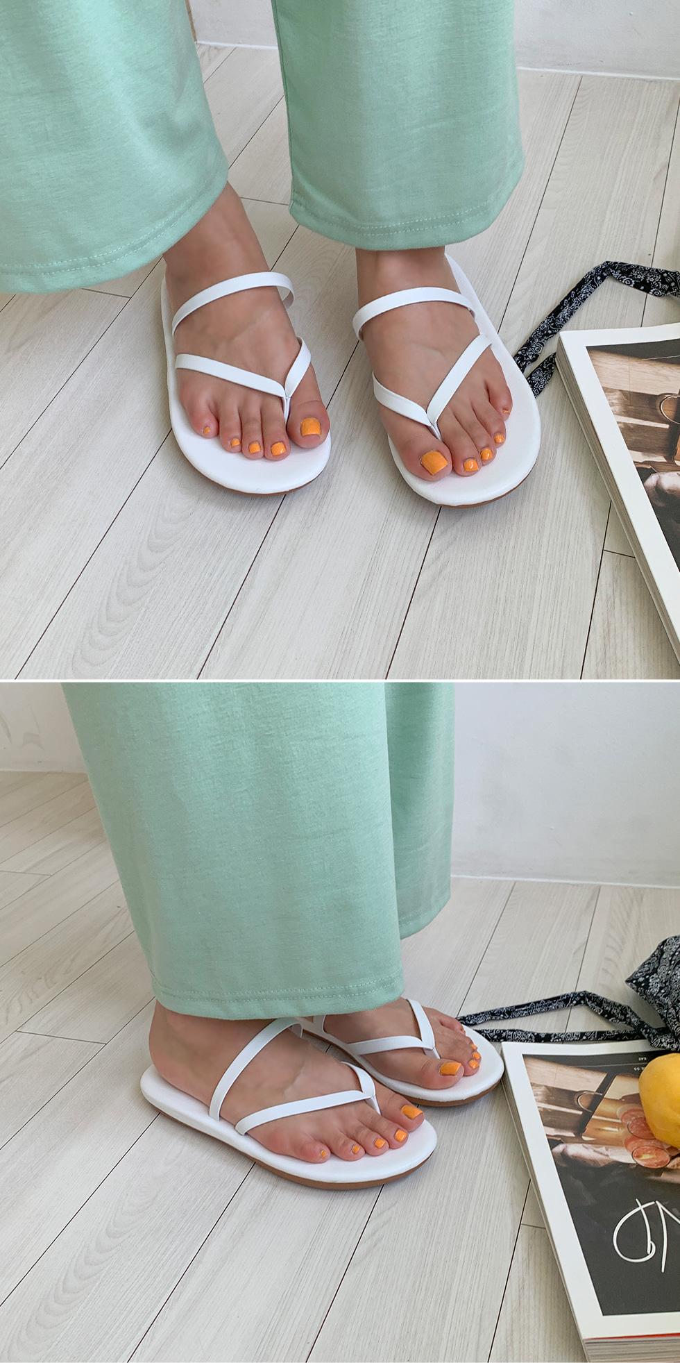 Flip-flop leather