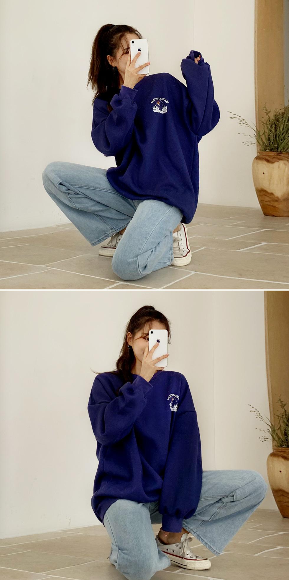 Mountain Fleece-lined Sweatshirt