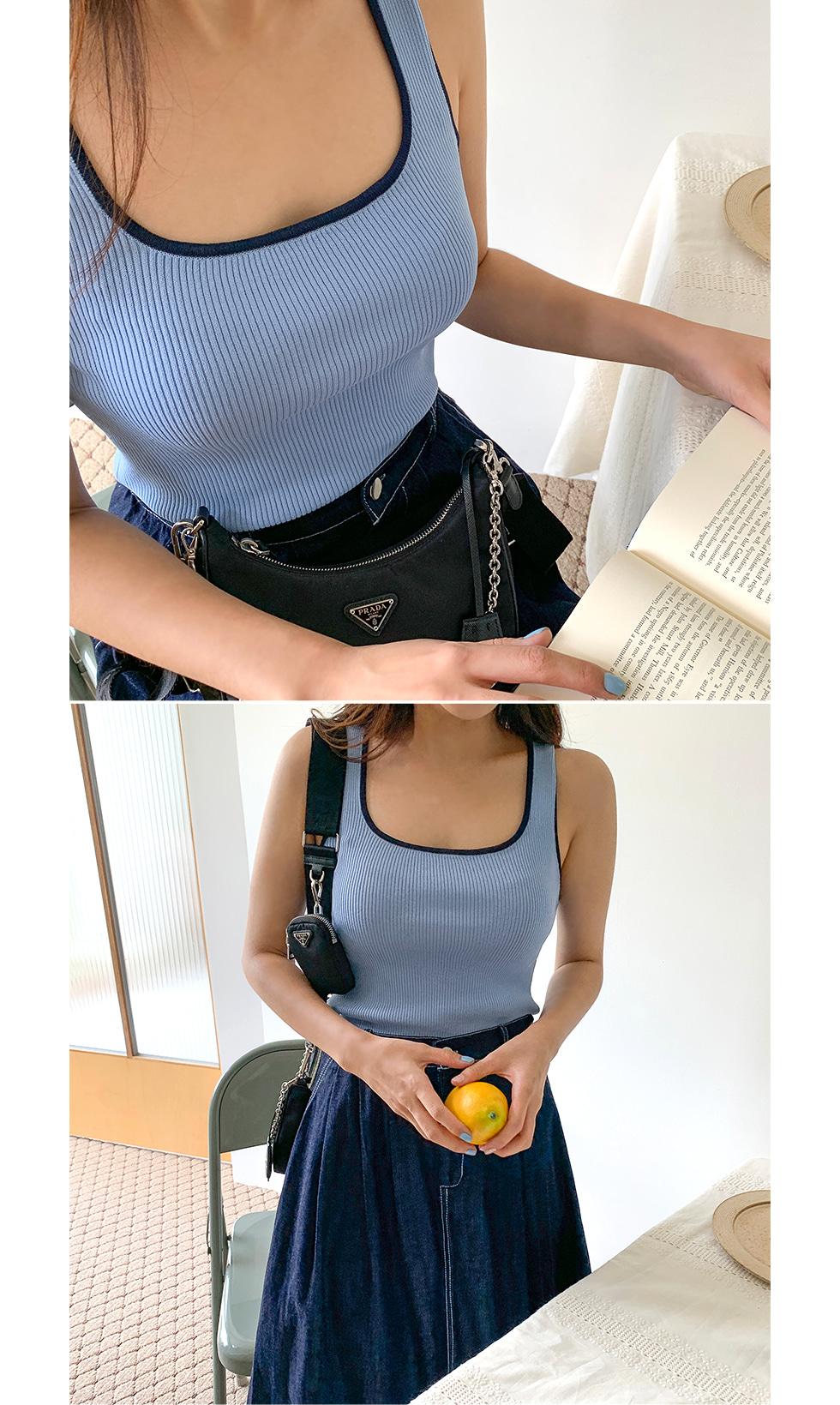 Vitamin Sleeveless Knitwear