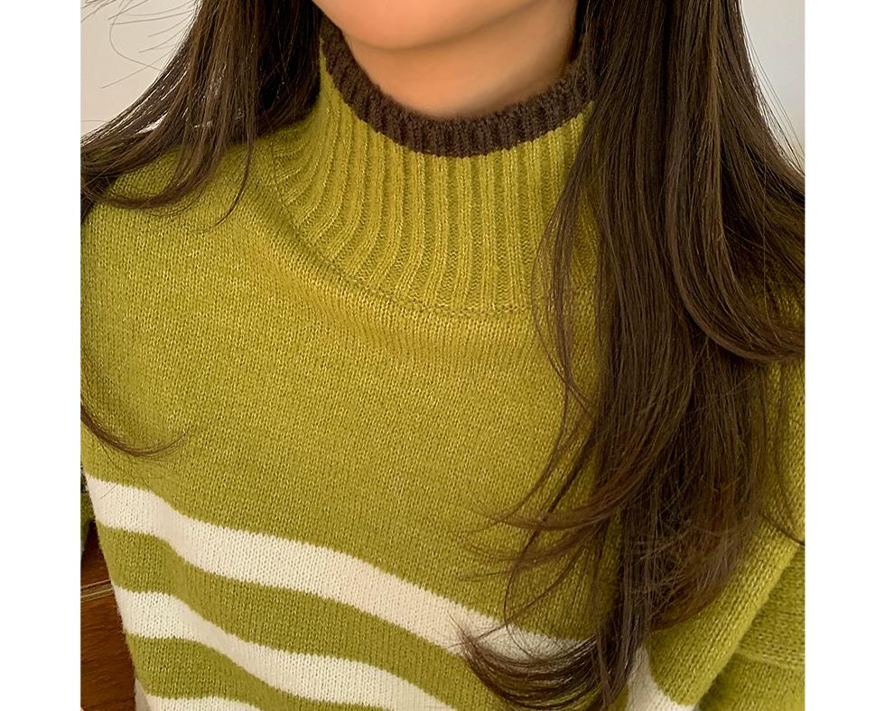 Mr. Striped Knitwear