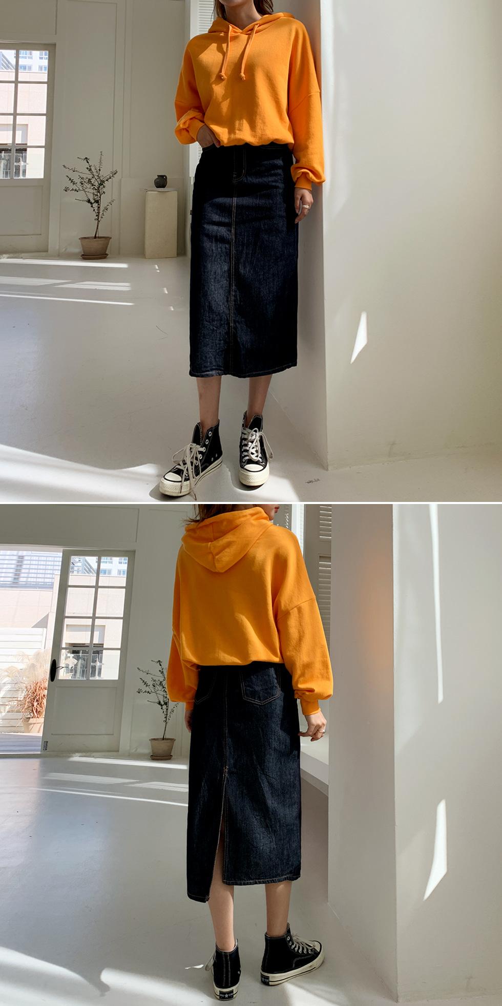 True saenggi long skirt