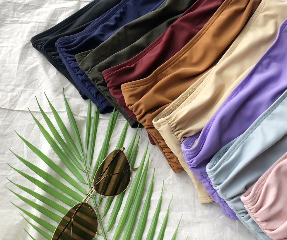 Mood Shirring Bikini Panties