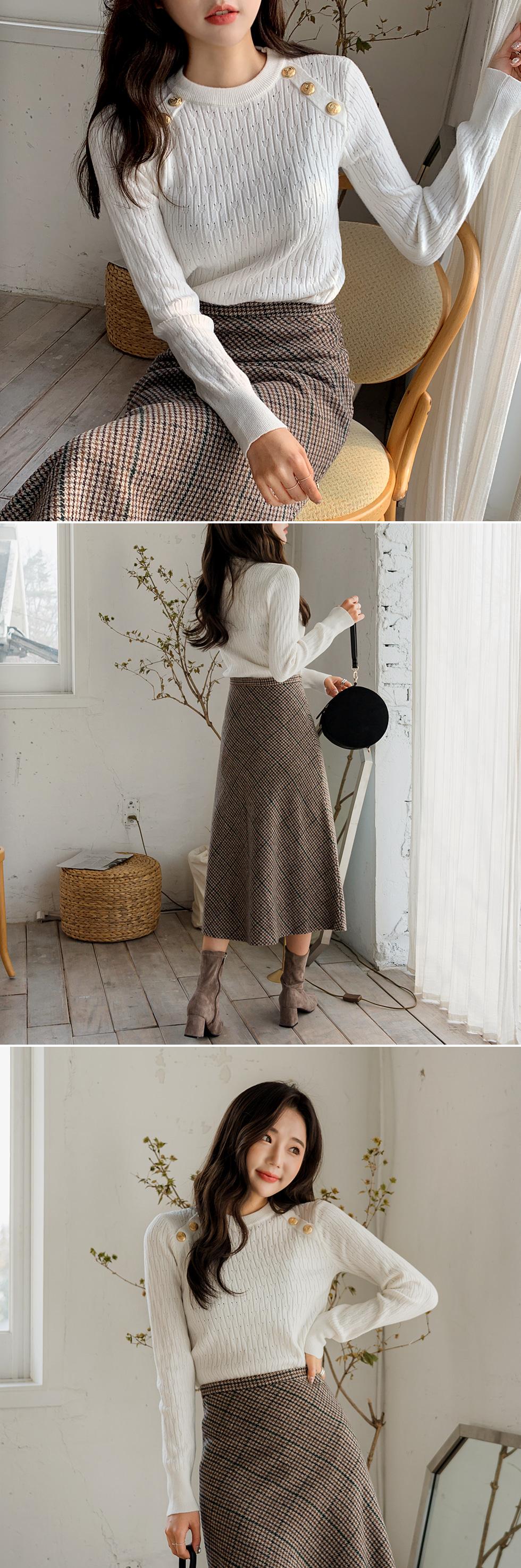 Mocha Flare Skirt
