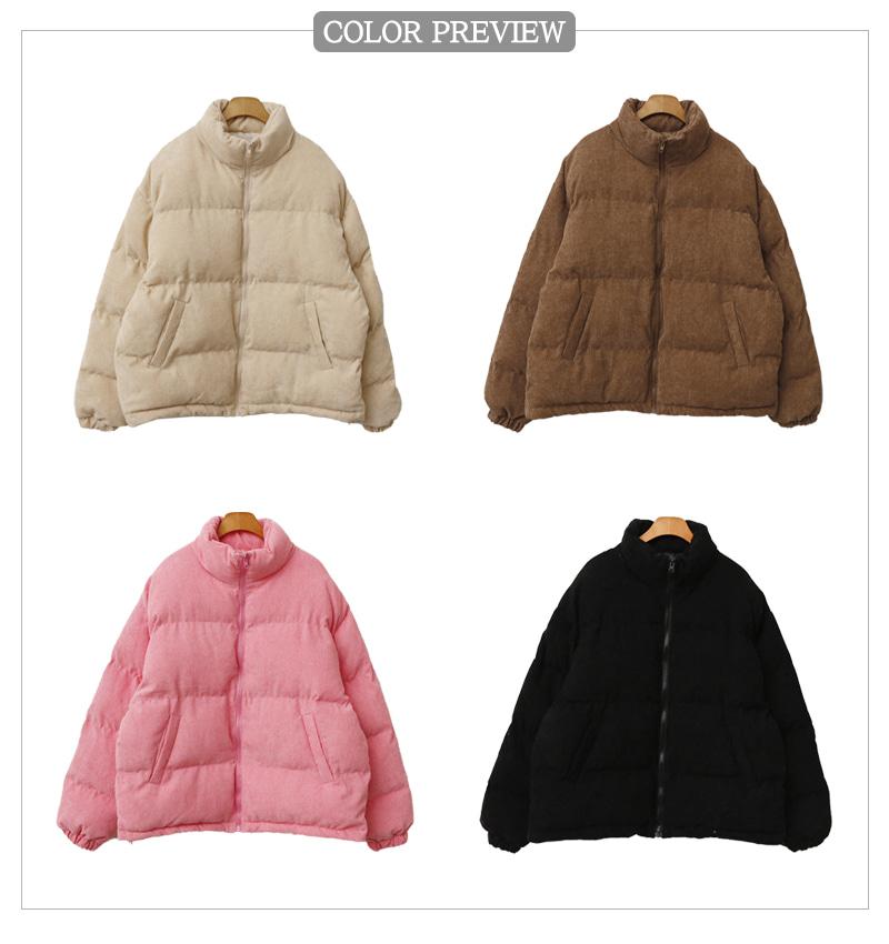 Corduroy Padded Jacket