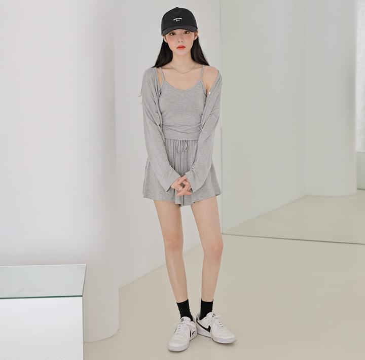 Rayon Blend Basic 3 Piece Clothing Set