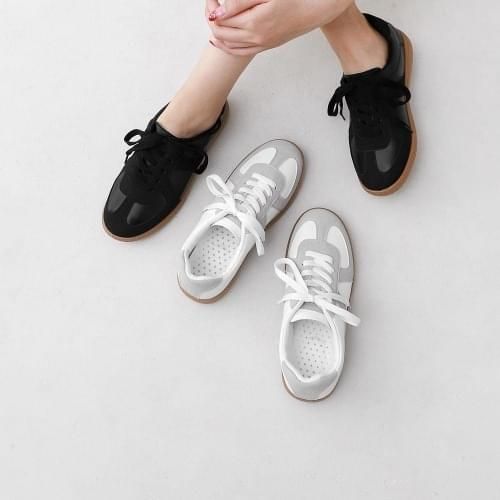 ITSHU Flexible Color Matching Color Basic Sneakers