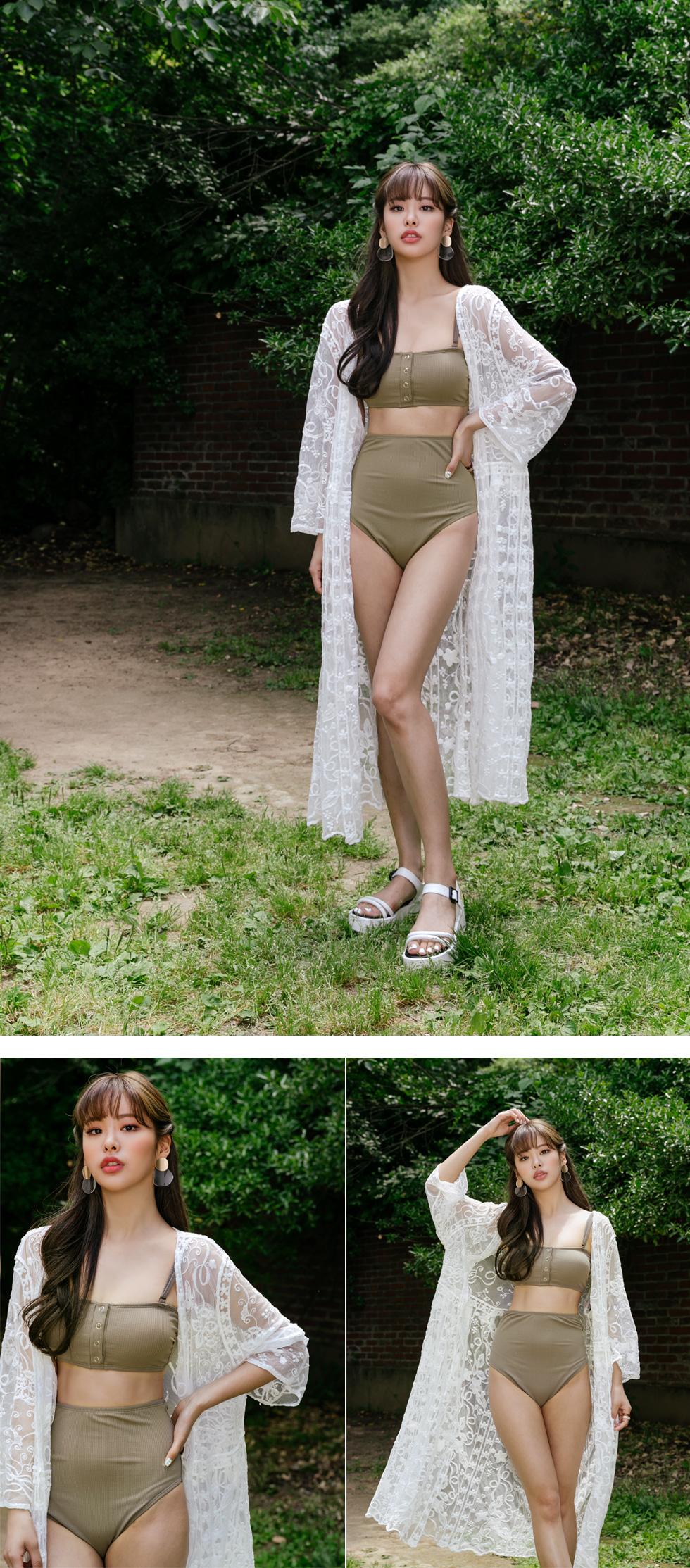 Snap High Bikini